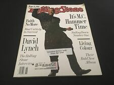 MC Hammer/David Lynch/Living Colour/Rolling Stone Mag/Issue 586/Sept. 6, 1990