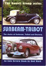 Book - Sunbeam Talbot Darracq History 80 90 Alpine Rapier Imp - Auto Review