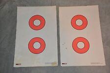 "LARGE LOT 219 SHEETS EZ2C GUN TARGET SHEETS ~ 11"" x 17"" ~ STYLE #2"