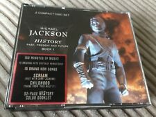 MICHAEL JACKSON - HISTORY - 2 X GREATEST HITS CD SET - BILLIE JEAN / EARTH SONG