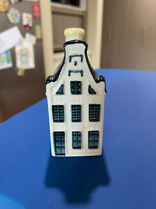 KLM Bols Miniature Blue Delft House #13 Holland 2013