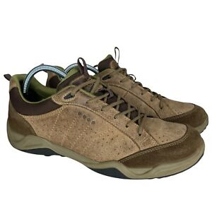 Ecco Mens Biom Receptor Technology Suede Leather Shoes EU42 Mens 8/8.5 Womens 11