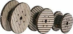 WALTHERS SCENEMASTER HO SCALE CABLE REELS 949-4155