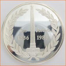 "1 oz .999 Silver "" SAN JACINTO ""  5074 Art Round/Bar"