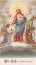 "MINIATUR Fleißbildchen Heiligenbild Gebetbild  Santini  Holycard "" H1519"""