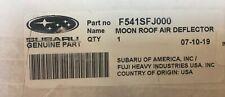 2012-2020 Subaru Moon Roof Air Deflector Impreza WRX STI CROSSTREK F541SFJ000