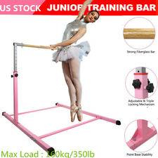 Horizontal Bar Gym Gymnastics Training Bar Adjustable Height Indoor Safe Fitness