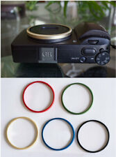 Custom Gold metal lens ring For Ricoh GR3
