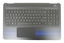 New HP Pavilion 15-AU Palmrest Touchpad Cover UK QWERTY Keyboard 856034-031