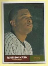 2010 Topps Chrome Baseball Robinson Cano Heritage Chrome Yankees 1603/1961