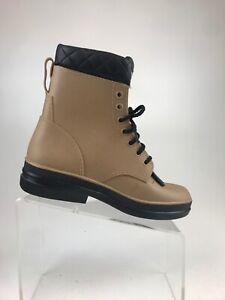 Durango Barnstormers Comfort Core Tan Rubber Lace Kiltie Boots Size 8