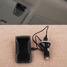 Car Sun Visor Clip Wireless Bluetooth Handsfree Microphone Speaker Drive & Talk