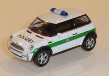 "Schuco - Mini Cooper ""Polizei"", Spur H0 / 1:87, ohne VP -- B969/K21"