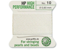 HP ad alte prestazioni filo di seta bianco INCORDATRICE 0.90mm Griffin Taglia 10-FT799