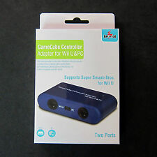 Mayflash Gamecube Controller to USB Adapter Converter GC 2-Port for PC Mac Wii U