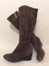 Rockport Brown Knee High Suede Boots Size 4.5