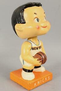Vintage Original 1960's New York Nicks Basketball Bobblehead Nodder Player NR