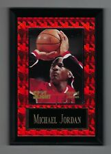 "Vintage 1994-1995 6.5"" x 4.5"" Card Plaque Michael Jordan Bulls Spotlight #3"