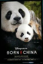 Born in China Movie Poster 27x40 2-Sided Authentic Adv Version
