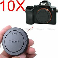 10x Camera Body Cover Cap for Sony E-mount NEX-3 NEX-C3 NEX-F3 NEX-3N; QX1