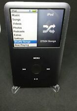 Apple iPod Classic 160GB 7th Generation Black With 27,524 Songs