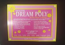 Black Quilt Batting Quilters Dream Midnight Select Poly Mid Loft Sampler Pack