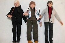 HARRY POTTER; DRACO MALFOY; RON WEASLEY, 8 INCH FIGURES POLYBAG  NEW