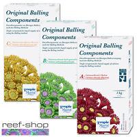 Tropic Marin Original Balling Set Components ABC 3x 1Kg Powder Reef Supplements