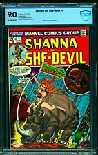 Shanna the She-Devil #4 CBCS VF/NM 9.0 Off White to White