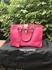 Yves Saint Laurent classic small cabas Y bag, fuchsia