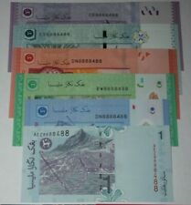 (PL) ALL SAME NUMBER 8888488 UNC 6 PCS RM1/5/10/50/100 FANCY ALMOST SOLID