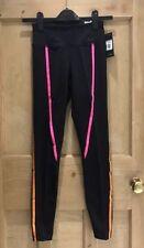 Nylon Striped Running Activewear for Women