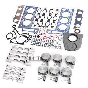 Engine Overhaul Rebuilding Kit For Mercedes-Benz C350 W204 W211 W166 M272 3.5L