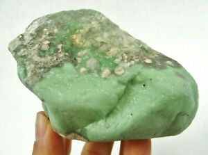 Natural Lucin Variscite in Matrix Lapidary Rough Stone Utah 222 grams