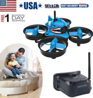 Micro FPV Racing Drone Quadcopter 5.8G 40CH 1000TVL Camera VR006 FPV Goggles