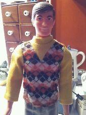 Live Action Ken Doll #1159 1970 In Best Buy Argyle #7758 1974 Mod Barbie