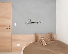 amour Amor De Corazón Dormitorio Salón Comedor Adhesivo pared decorativo imagen