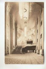 Seidman Real Photo Postcard Grand Foyer Radio City Music Hall New York City NY