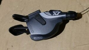 SRAM X7 shifters (10 speed Right, 2 speed Left, 3 speed Left), Cable included