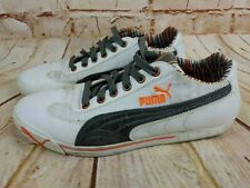 PUMA SPEED CAT 302860-01 Women's SHOES SIZE 8.5 WHITE SPORT LIFE STYLE