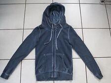 Sweatshirt-Jacke, Kapuze, blau, S. Oliver, Gr. 34