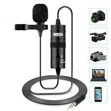 BOYA BY-M1 3.5mm Omnidirectional Lavalier Microphone for Canon Nikon Sony DSLR