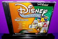 Print Artist Disney Print Creations Winnie The Pooh PC CD ROM