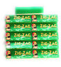 10 Packs Zig Zag Green Rolling Papers, Regular 50 leaves per pack, plus 2 J Tube