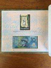 $10 Note and Phonecard - 100th Anniversary Of Waltzing Matilda 1995