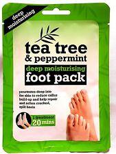 Árbol de té Menta & Manteca De Karité Pie Pack tratamiento hidratante calcetines/botas