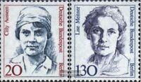 Berlin (West) 811-812 (kompl.Ausgabe) gestempelt 1988 Bedeutende Frauen