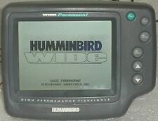Humminbird Wide Paramount Fishfinder Depth Finder