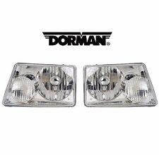 NEW Ford Ranger 2001-2006 Pair Set of 2 Halogen Headlight Assemblies Dorman