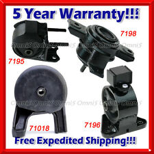 M237 Fits 2011-2013 Kia Sorento 2.4L 3.5L 2WD Engine Motor& Trans Mount Set 4pcs